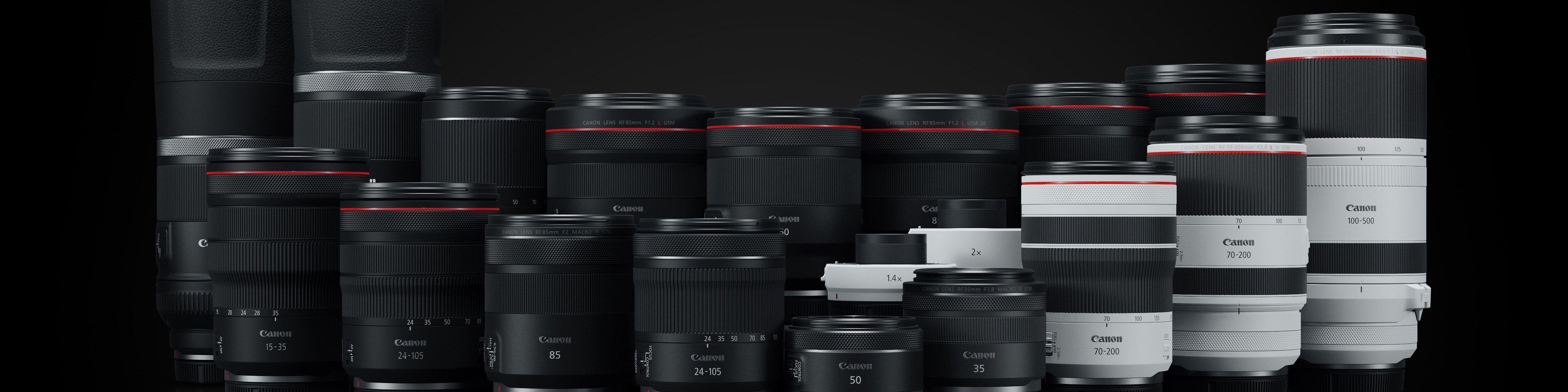 RF Lenses   Canon Compatible Lenses for EOS R   Lenses   Camera ...